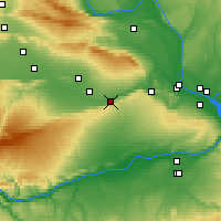 Nearby Forecast Locations - Prosser - Map