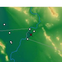 Nearby Forecast Locations - Somerton - Map