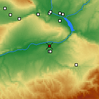 Nearby Forecast Locations - Umatilla - Map