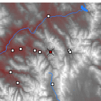 Nearby Forecast Locations - Vail - Map