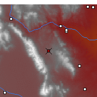Nearby Forecast Locations - Westcliffe - Map