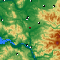 Nearby Forecast Locations - Winlock - Map