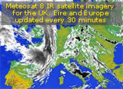 Meteosat 8 - European VIS and IR in high resolution