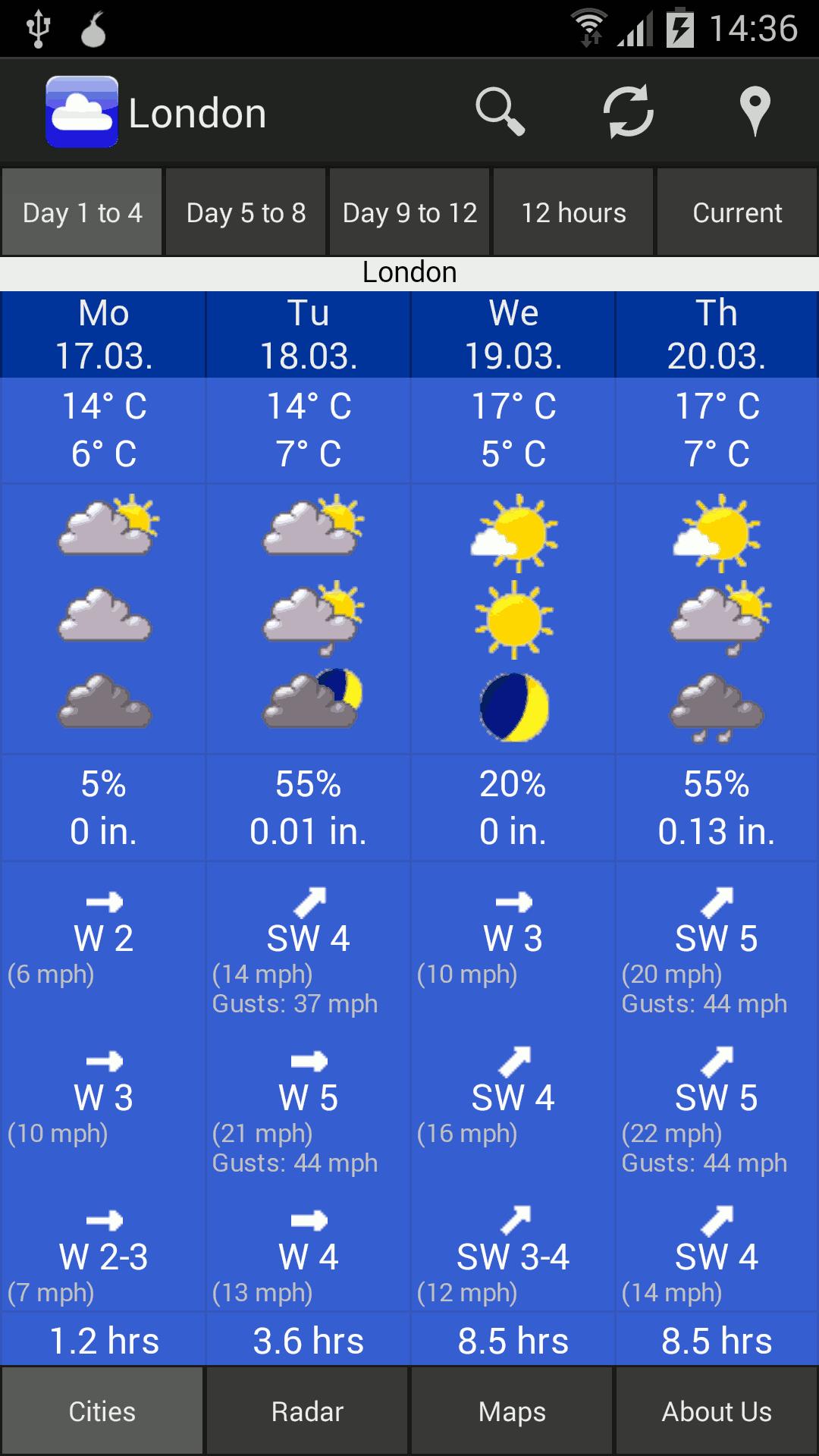 Weather WeatherOnline